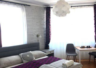 2 fős szállás szobája Egerben
