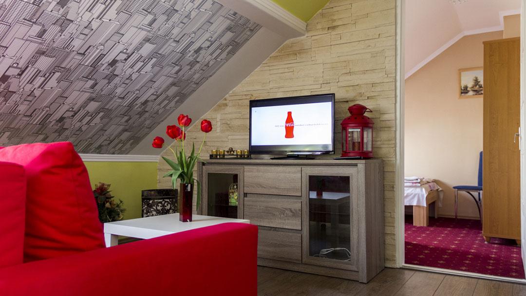 Standard tetőtéri apartman