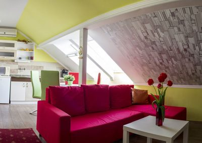 Standard tetőtéri apartman - Family Apartman