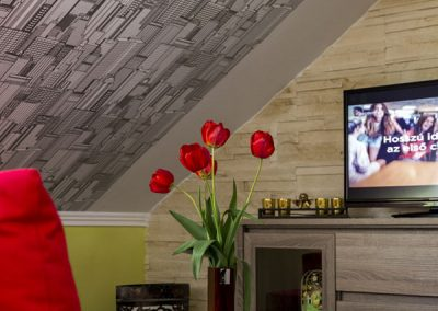 Standard tetőtéri apartman szoba