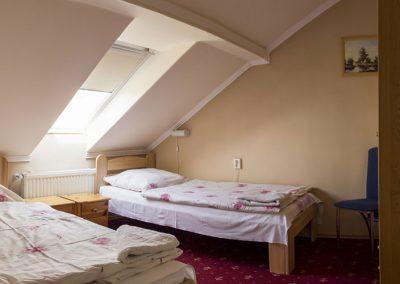 Standard tetőtéri apartman hálószoba - Eger