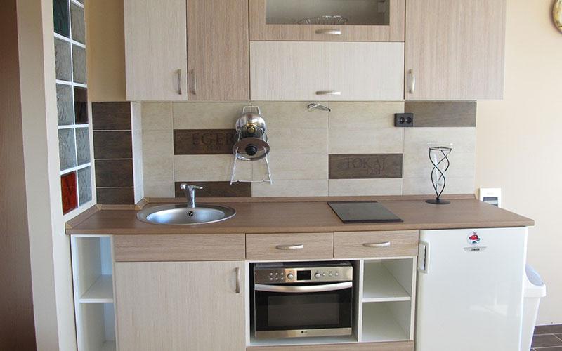2 hálószobás superior apartman - konyha