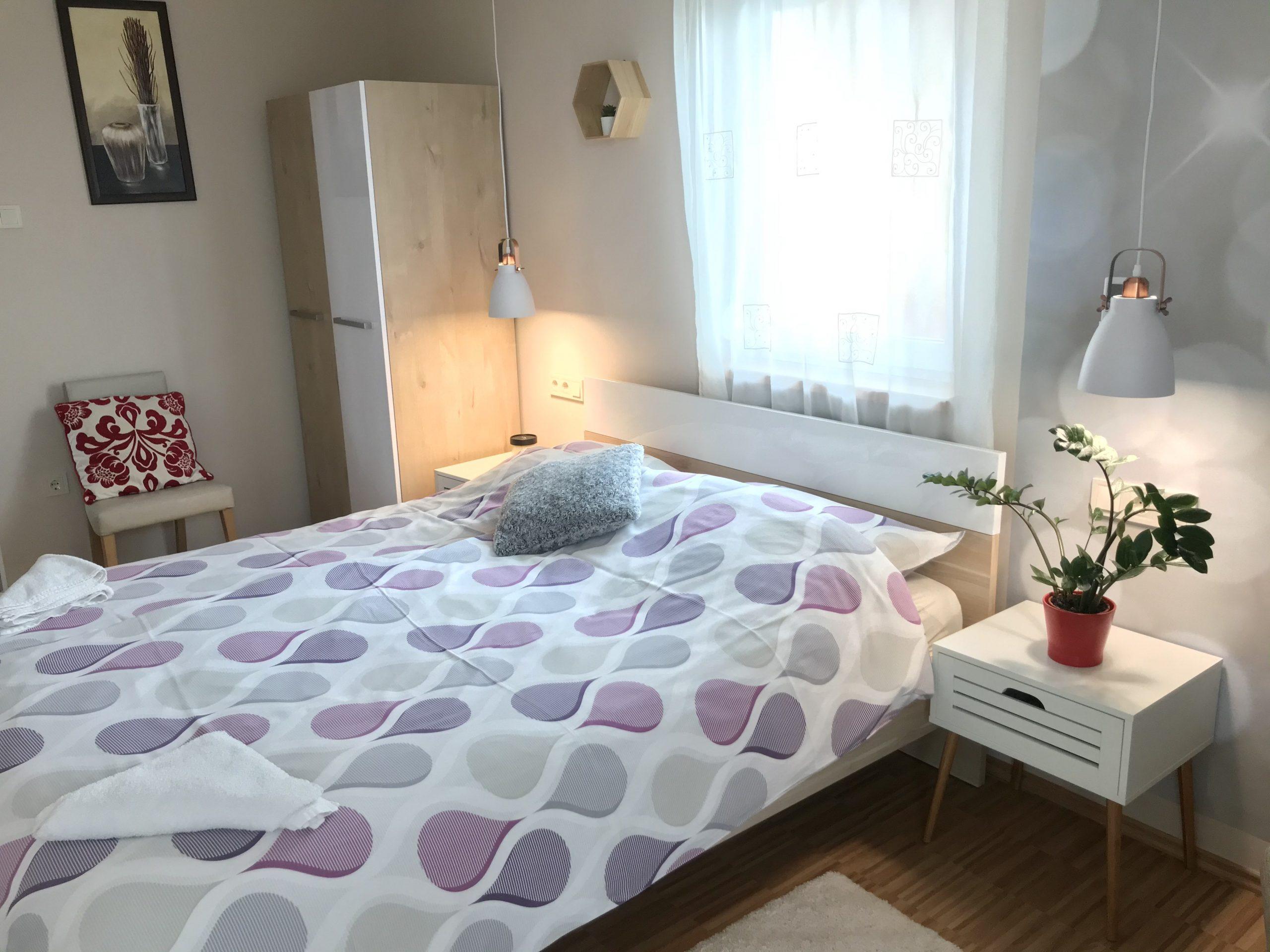 Panorámás 2 hálós apartman szoba