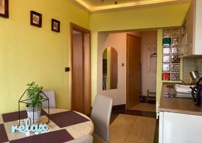 Superior 2 hálószobás apartman, konyha