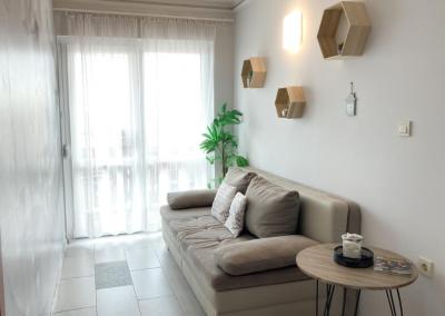 Komfort 2 hálószobás apartman Nappali