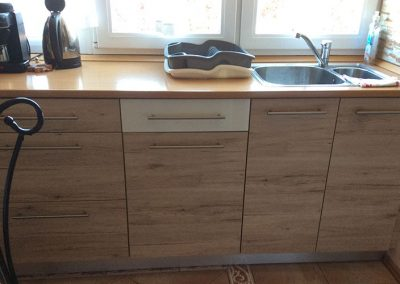 Panorámás 2 hálós apartman konyha - Eger